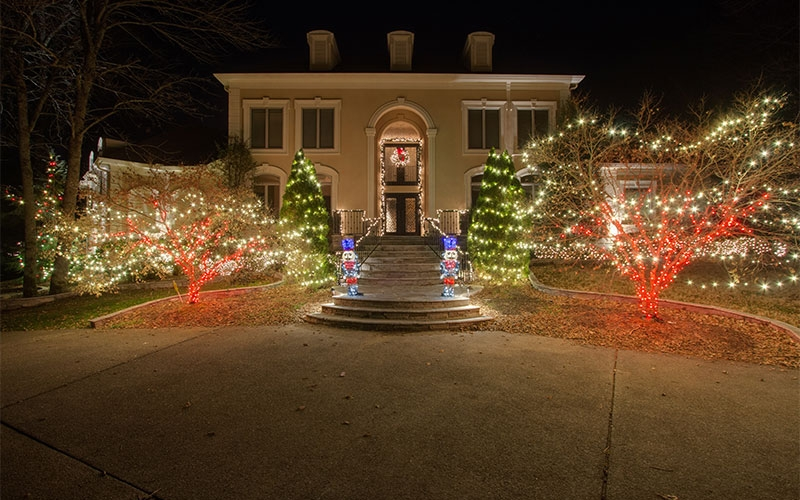 Holiday Lighting Design Ideas Themed